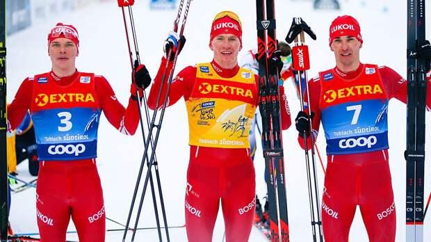 Русские лыжники творят чудеса на главной гонке мира: видео