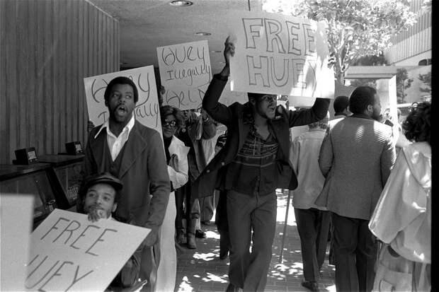 Социальные конфронтации в США 1960-х - 1970-х годов: Леворадикальная Партия черных пантер   (7)