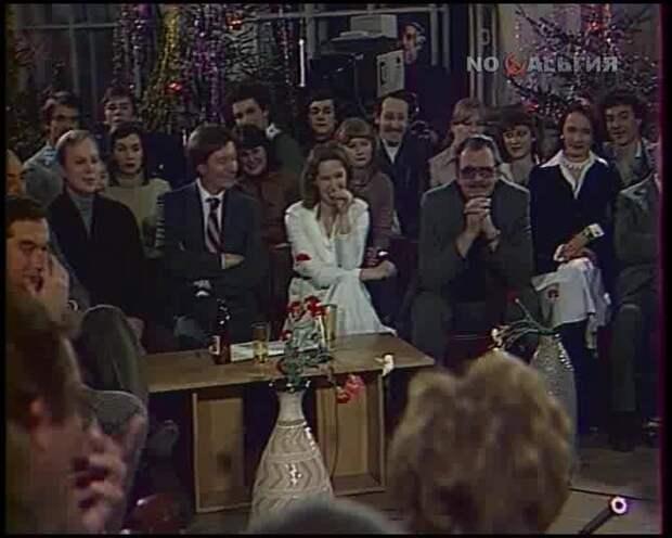 """Владимир Этуш и Юрий Яковлев в передаче """"Театральные встречи"""" 1980"""
