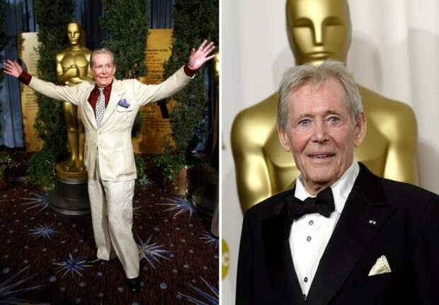 Актер на вручении почетного *Оскара* | Фото: diletant.media