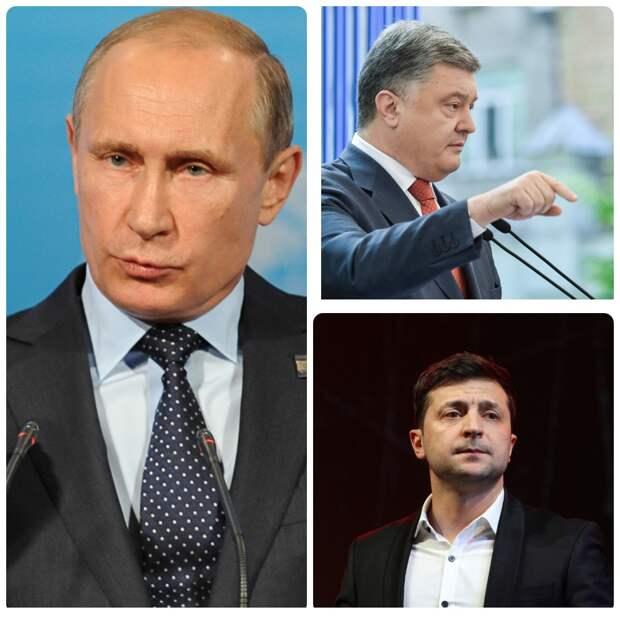 Порошенко строго наказал Зеленскому не встречаться с Путиным