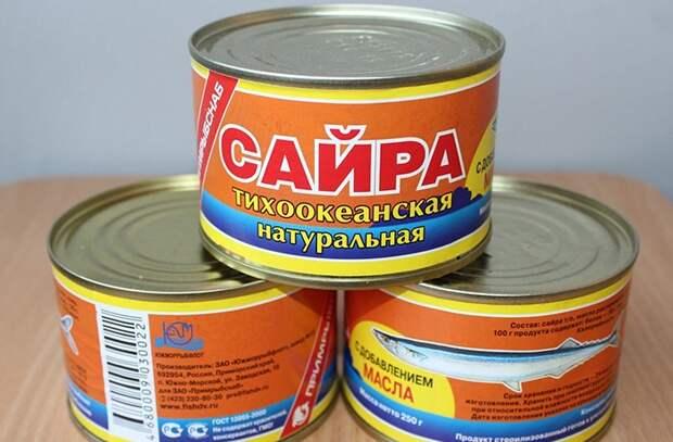 Из сайры можно приготовить суп, бутерброды, паштет, салаты, начинку для пирога / Фото: negoloday.net
