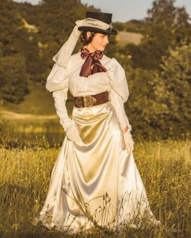 «Леди винтаж» изВинницы: девушка выбрала для себя повседневный викторианский стиль