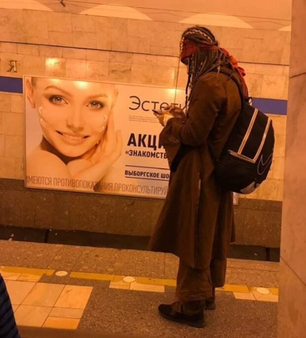 Современные модники, которых можно встретить в метро (28 фото)
