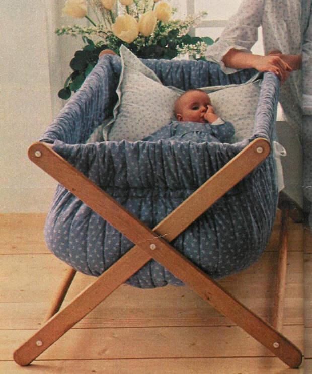 Оцените подвесные люльки, сделанные руками заботливых мамочек.