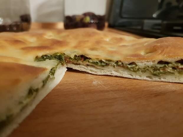 Цахараджын - осетинский пирог со свекольной ботвой Осетинские пироги, Рецепт, Еда, Длиннопост