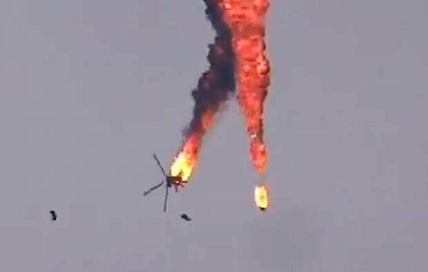 Азербайджан случайно сбил российский вертолет