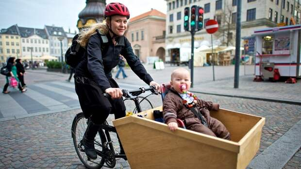 Велосипедный триумф Копенгагена: как датчане победили пробки и пересели на велосипеды