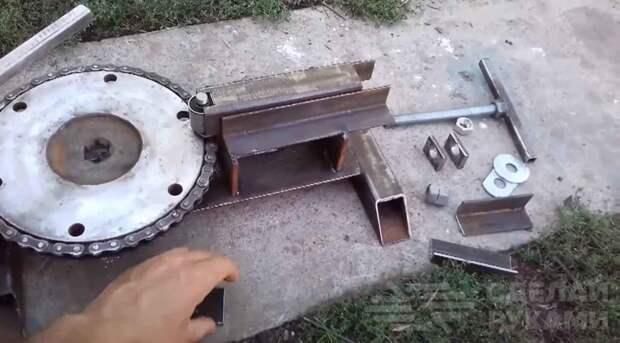 Гибочный станок для холодной ковки
