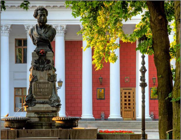 Памятники Одессы. Памятник Пушкину