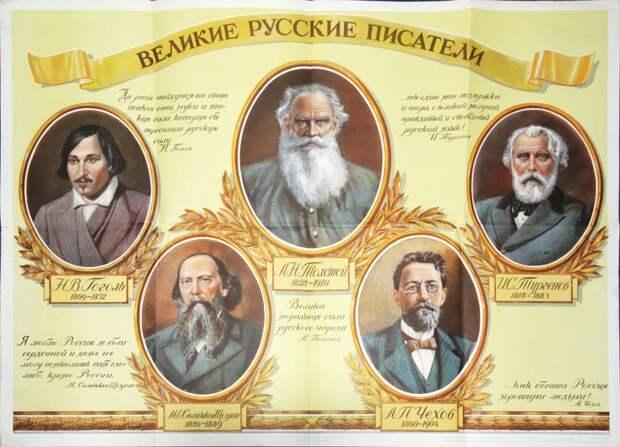 """Серия плакатов """"Великие русские люди"""" 1946-1951 гг."""