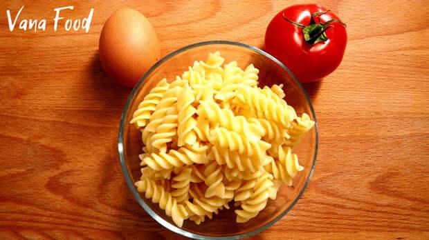 Фото к рецепту: Студенческие вчерашние макароны