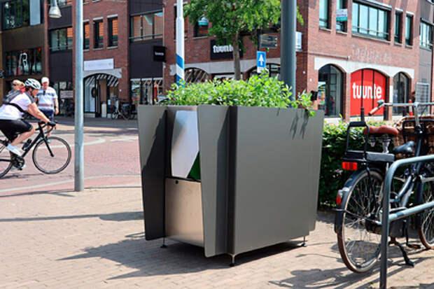 На улицах Амстердама появились конопляные туалеты