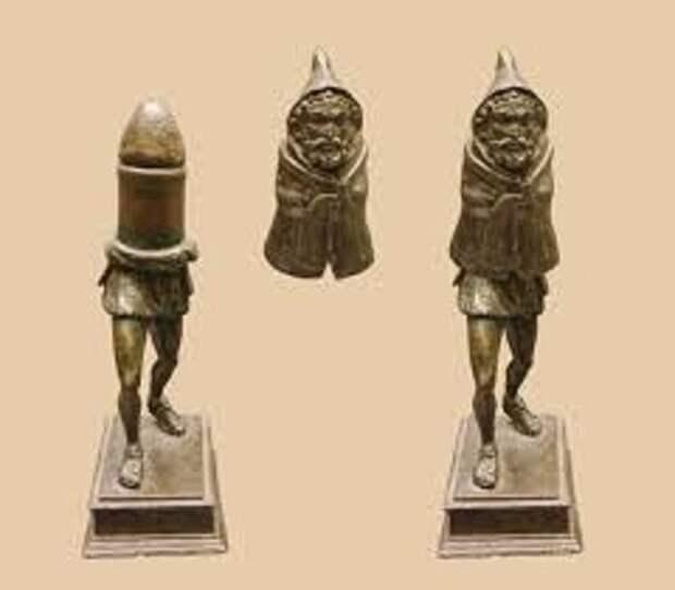 Замечательная статуэтка Приапа в виде скрытого фалллоса археология, история, расследование, тайны
