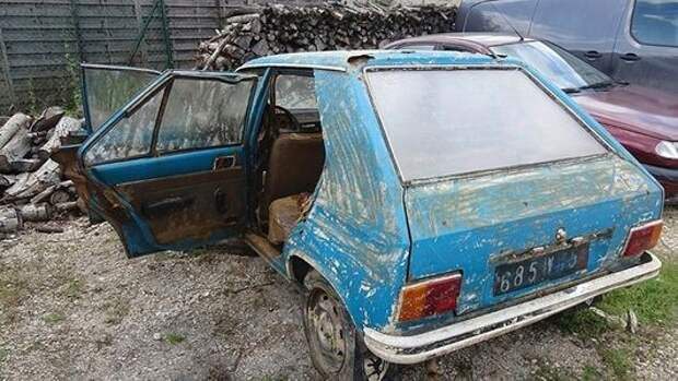 Пенсионерке вернули угнанный 38 лет назад Peugeot