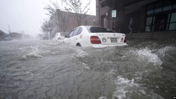 В США продолжает бушевать ураган «Салли»