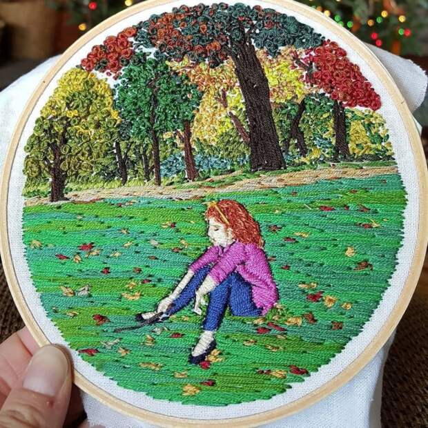 Вышивки Jessica Pambianco