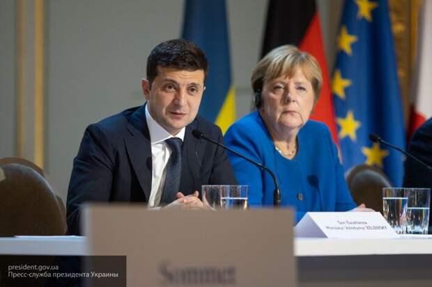 Меркель пообещала Зеленскому 150 млн евро  на борьбу с коронавирусом