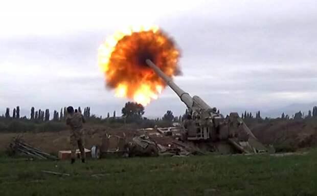 Сводка боевых действий по Нагорному Карабаху