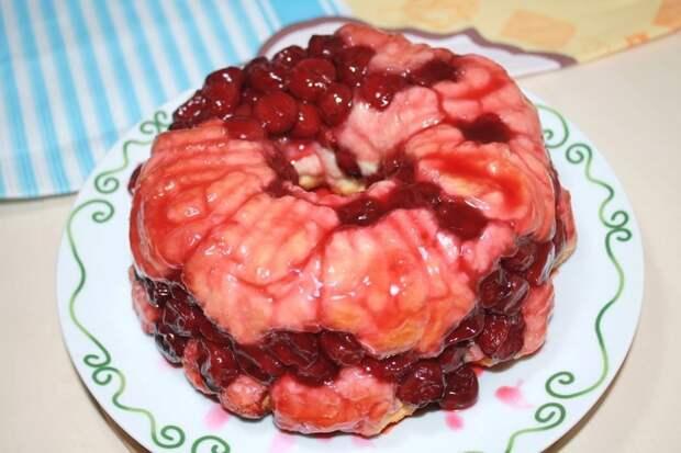 Вишневый пирог видео, кулинария, пирог, рецепт