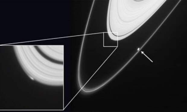 Гуманоиды обитают возле Сатурна