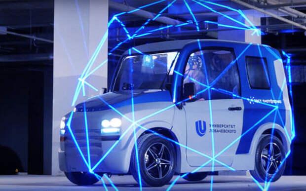 Новая российская разработка: автомобиль, управляемый силой мысли