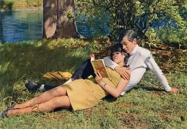 Романтические фотографии пар из 1960‑х годов