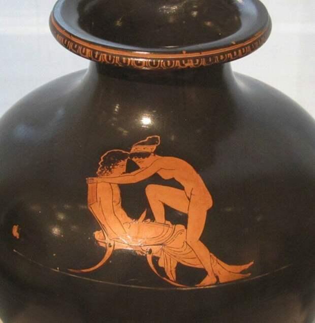Загадка фрески из Помпей. Изображение фаллоса в искусстве древнего Рима и Греции археология, история, расследование, тайны