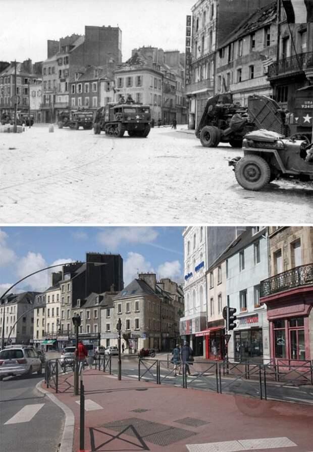 7 исторических фото городов до и после Второй мировой войны