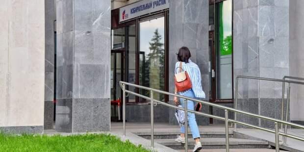 Политолог заявил о триумфе дистанционного электронного голосования Фото: Ю. Иванко mos.ru