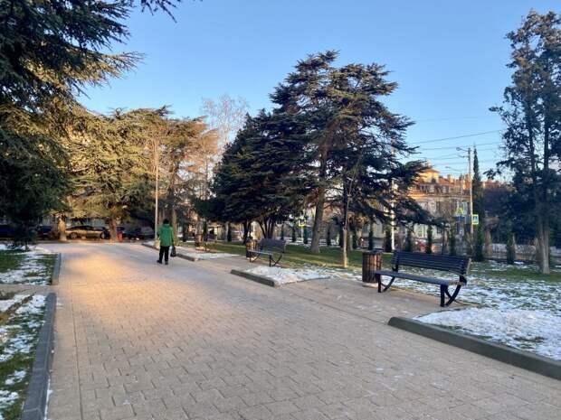 В Севастополе появится 18 новых парков и скверов