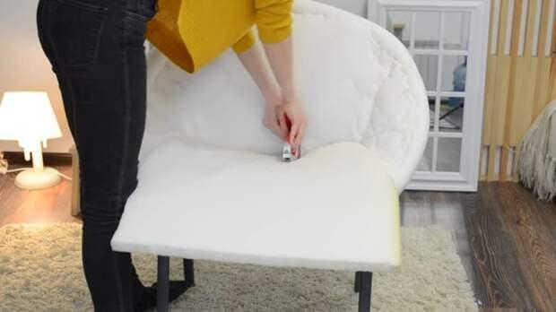 Неожиданная переделка офисного стула своими руками — отличный результат