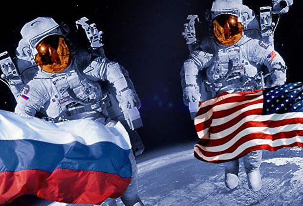 Пешком до Луны, или Штаты размечтались обогнать Россию в космосе