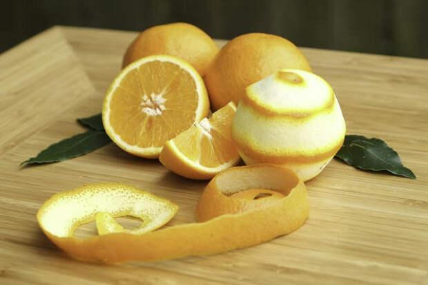 Поговаривают, будто кожура апельсинов - природный инсектицид