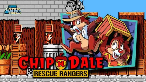 Disney's Chip 'n Dale Rescue Rangers на Денди