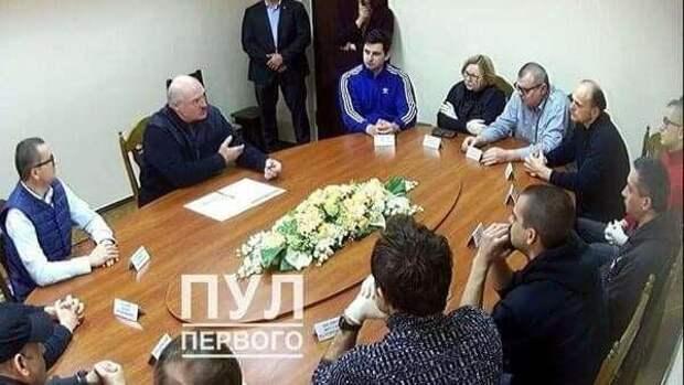 Лукашенко провел переговоры с оппозицией в СИЗО
