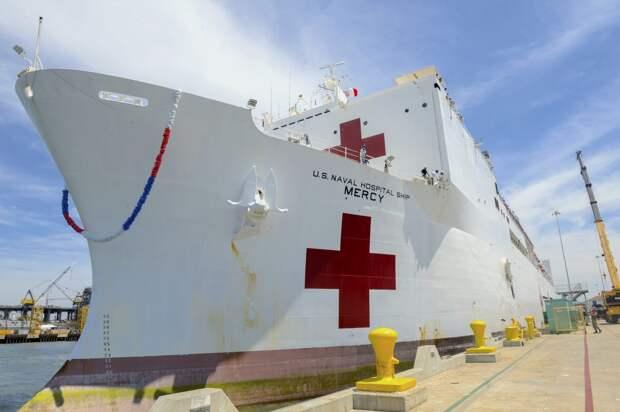 Госпитальное судно ВМС США «Мерси»