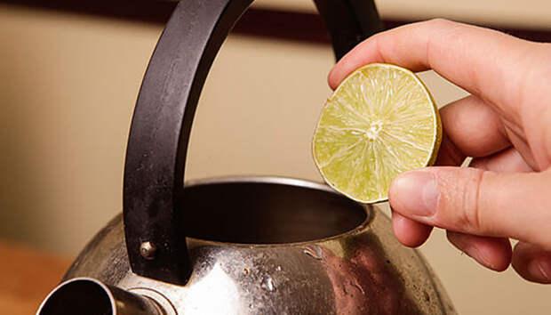 Народные методы для очистки внешней и внутренней поверхности чайника