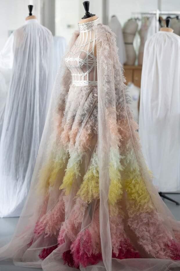 Платье Dior Приянки Чопра с Met Gala
