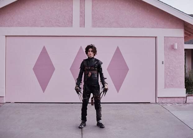 Тимоти Шаламе сыграл сына Эдварда Руки-Ножницы в рекламе Cadillac