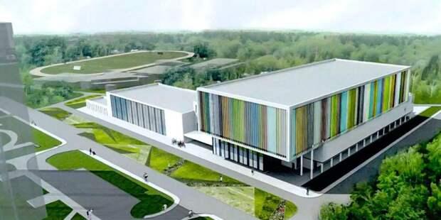 Собянин осмотрел новый Центр современного пятиборья в районе Северный
