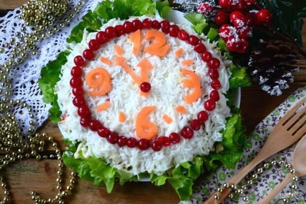 Украшение салатов на Новый 2021 год: как украсить, самые лучшие идеи8