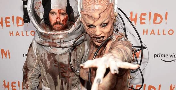 Хайди Клум придумала самый страшный костюм на Хеллоуин