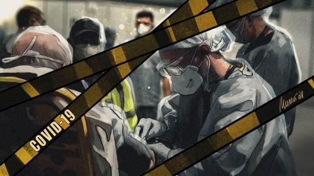 Украина и Россия установили антирекорды по числу заболевших коронавирусом