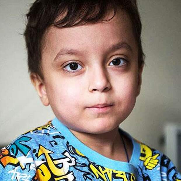 Давид Бубнов, 6 лет, редкое врожденное заболевание – первичный иммунодефицит, спасет лекарство, 1094940₽