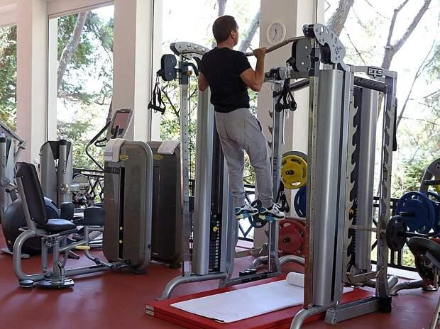 Дмитрий Анатольевич в отличной спортивной форме. Фото: Екатерина Штукина/ТАСС