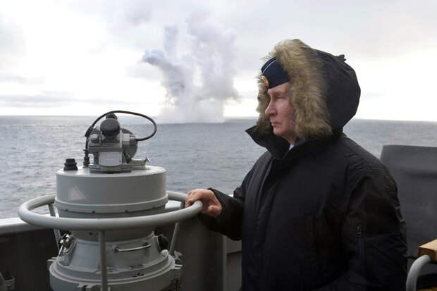 Путин назвал долю современного оружия в ядерной триаде РФ