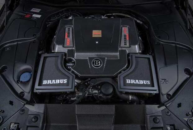 Brabus сделал самый мощный и быстрый в мире кабриолет на четверых авто, моторы, техника