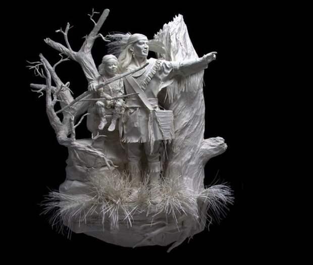 Шедевры бумажного искусства от Аллена и Пэтти Экман