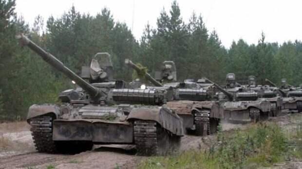 Россия развернула танки и спецназ ВДВ награнице сУкраиной